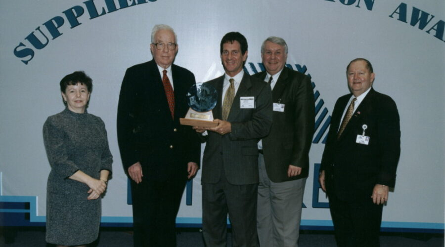 Supplier Recognition Award